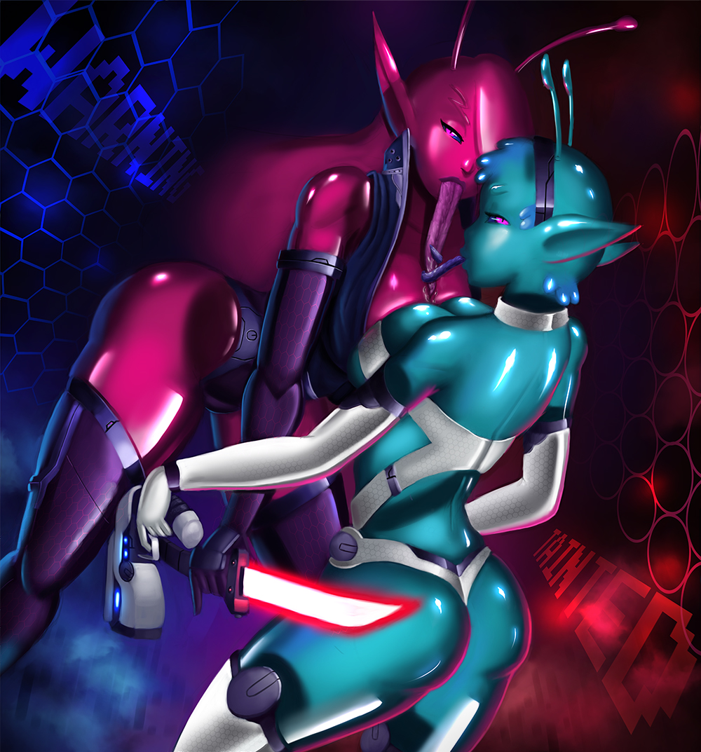 nenne space in tainted trials Conker's bad fur day alien