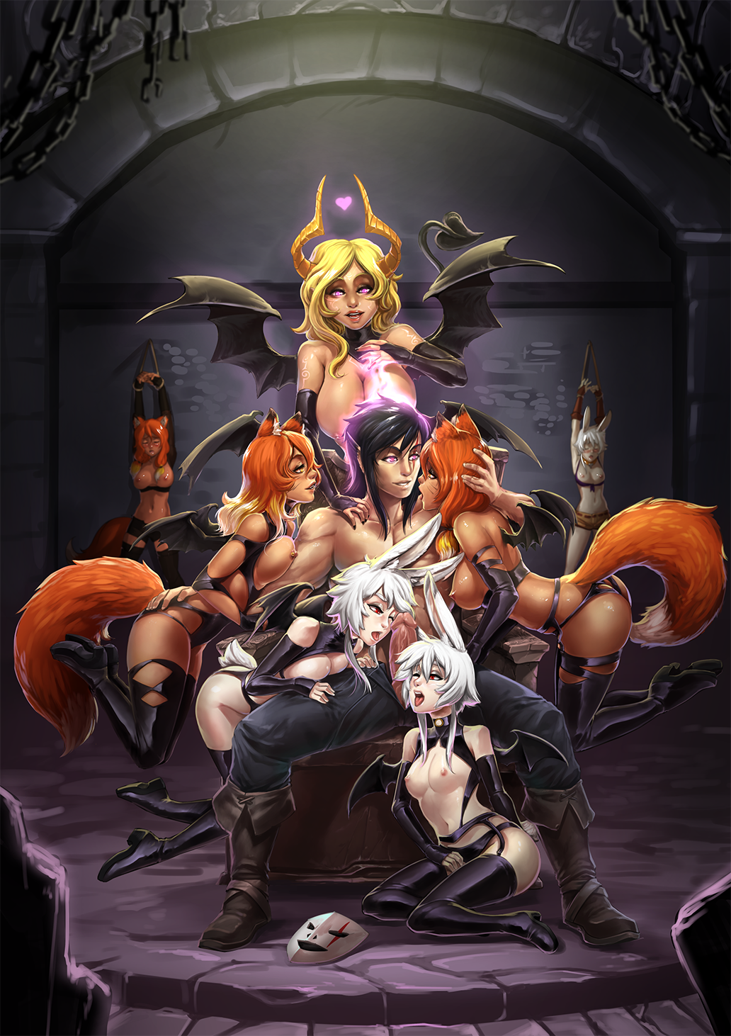 brawler is how old bunny Monster musume polt the kobold