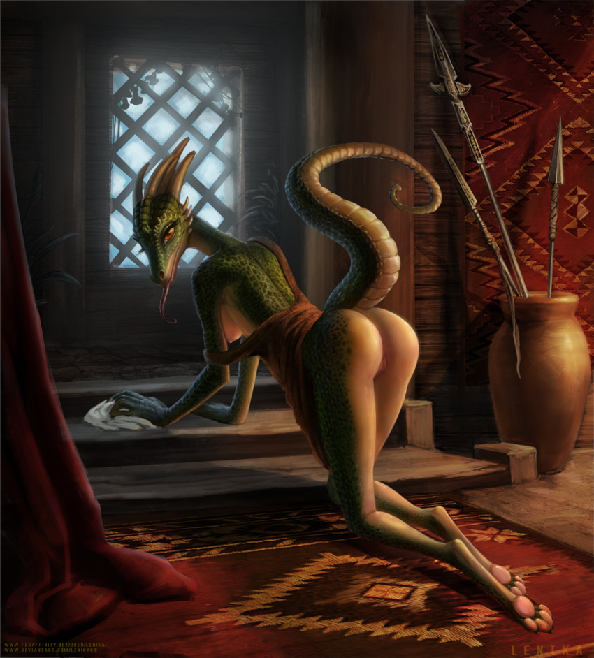 the maid argonian lusty comic Avatar the last airbender ming