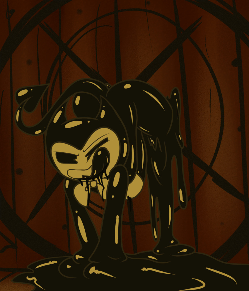 for ink quest the machine the bendy Delightfully fuckable and unrefined!!