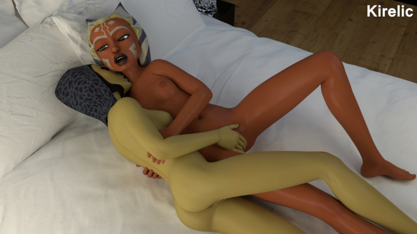 star ahsoka tano naked wars Bewitched i dream of jeannie crossover
